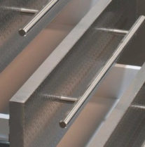 Long Brushed Stainless